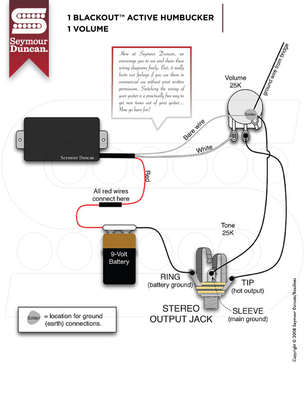 Seymour Duncan Tele Wiring Diagrams - Wiring Diagrams Collection